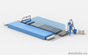 Линия по производству газобетонных блоков АСМ-50КС - Изображение #1, Объявление #1582513